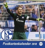Schalke 04 Sammelkartenkalender - Kalender 2018
