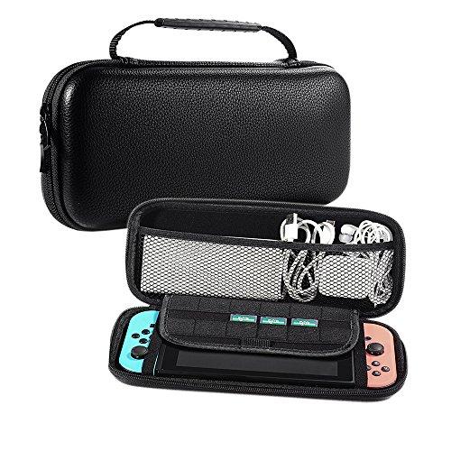 Aufbewahrungsbox für Nintendo Switch - EVA Hard Shell Stoßfeste Gehäuse und widerstehende Kratzer Schutz Tragbare Tragetasche für Nintendo Switch - Hand-held-gps-fall