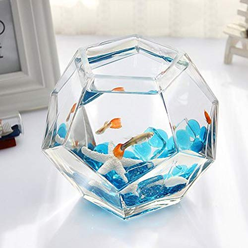 LSHUAIDJ Acuario Acuario Goldfish Bowl Betta pecera