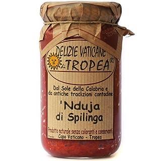 Nduja di Spilinga - von Delizie Vaticane 180g (würzige streichbare italienische Wurst) - Italienische Feinkost Gourmet Spezialitäten