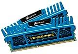 Corsair Vengeance - Módulo de Memoria XMP de Alto Rendimiento de 8 GB (2 x 4 GB, DDR3, 2133 MHz, CL11), Azul (CMZ8GX3M2A2133C11B)
