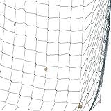 Fischernetz mit Muscheln, circa 200 x 100 cm gross, zum Aufhängen Fischnetz Deko Wandverzierung - 100% Baumwolle