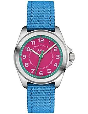 s.Oliver Unisex-Armbanduhr Analog Quarz Textil SO-3229-LQ