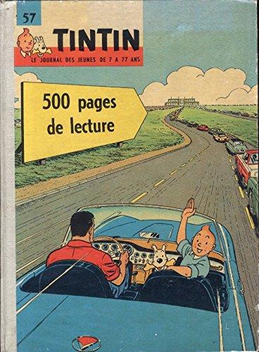 57 Tintin Recueil du journal de Tintin . Du fascicule, occasion d'occasion  Livré partout en Belgique