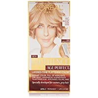 (2 Pack) L'Oreal Paris Hair Color Excellence Age Perfect Layered-Tone Flattering Color Dye, Dark Natural Golden Blonde (8G) by L'Oreal Paris