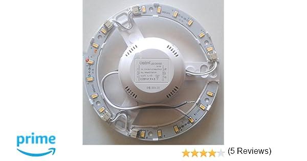Plafoniere Con Circolina : Takestop® circolina led 12w 1100lume plafoniera disco neon anello