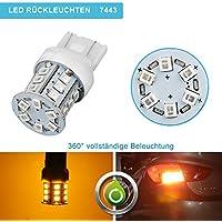 ziste 2835 SMD W21W T20 7440 7441 7443 7444 992 Lampadina LED per luce indicatore laterale coda luce di parcheggio