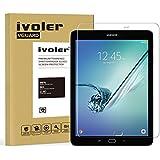 Samsung Galaxy Tab S2 9.7'' (SM-T810 / SM-T815) Protector de Pantalla Cristal, iVoler® Film Protector de Pantalla de Vidrio Templado Tempered Glass Screen Protector para Samsung Galaxy Tab S2 9.7'' (SM-T810 / SM-T815)- Dureza de Grado 9H, Espesor 0,30 mm, 2.5D Round Edge-[Ultra-trasparente] [Anti-golpe] [Ajuste Perfecto] [No hay Burbujas]- Garantía Incondicional de 18 Meses