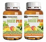 Drenante para adelgazar | 2 BOX Suplemento diurético | Dren Plus 60 comprimidos | formulación con: STEM D'PIÑA - PILOSELLA - ABEDUL - FUCUS - CENTELLA - TE 'GREEN - Ginkgo biloba - BIOFLAVONOIDES