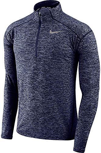 Nike Mens Dry Element 1/2 Zip Running Top Nike Mock Neck