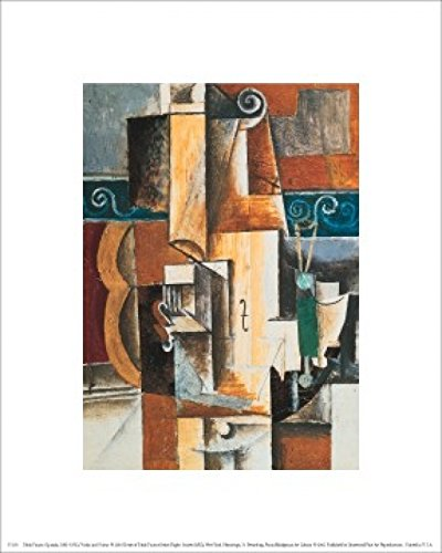Pablo Picasso – Violin and Guitar Poster Drucken (20,32 x 25,40 cm)