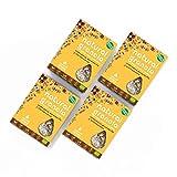 Granola *Nueva Receta* -Natural Athlete- Desayuno con frutos secos y semillas - 100% natural y orgánica, sin azúcar refinado. Pack 4x325gr (Arándano, amaranto y cardamomo)