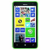 Nokia Lumia 625 Smartphone débloqué 4G (Ecran: 4.7 pouces - 8 Go - Windows Phone 8) Vert