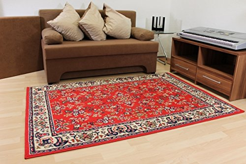 Design Teppich Klassika rot Orient Muster