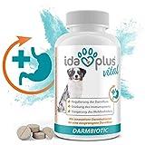 Ida Plus - Darmbiotic 120 Tabletten mit Sollbruchstelle - Darmflora Aufbau durch Probiotika - Innovative Darmbakterien zur Regulierung der Verdauung - Darmsanierung für den Hund - Immunsystem stärken
