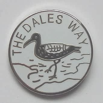 Emblems-Gifts The Dales Way Distintivo Spilla Smaltata