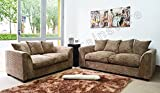 Best Sofas - Dylan Byron Caramel Mink Fabric Jumbo Cord Sofa Review