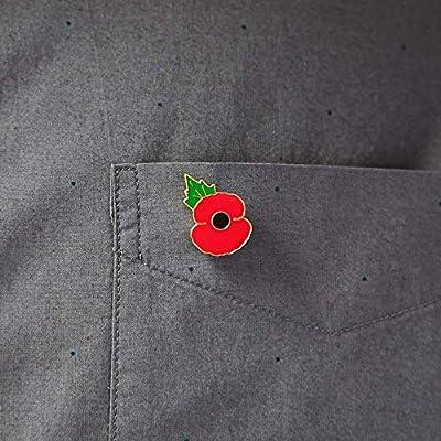 The Royal British Legion Poppy Lapel Pin Small