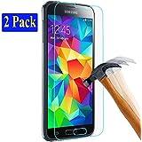 2x Samsung Galaxy S5 / S5 neo plt24 Ultra-Klar Glasfolie Panzerglas Schutzfolie Displayschutzglas Schutzglas Hartglas für Samsung Galaxy S5 / S5 neo (2 Stück)
