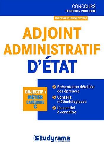 Adjoint administratif d'état