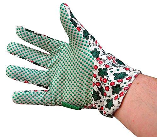 3 Damen Gartenhandschuhe, 2 Paar, allgemeine Zweck Robuste Gartenhandschuhe, 1 Paar Handschuhe Typ der 'Rigger'Aus Wildleder