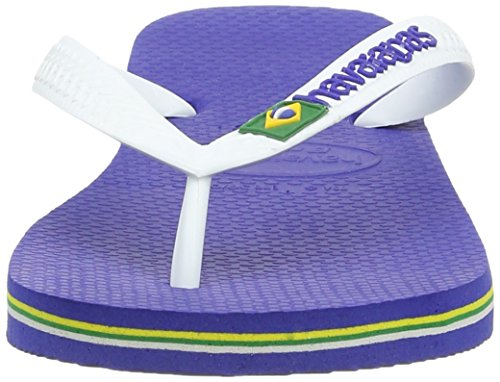 Havaianas Unisex-Erwachsene Brasil Logo Zehentrenner Blau