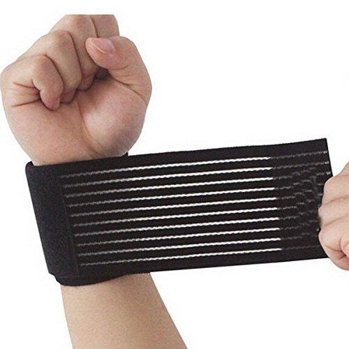 Seguryy–Rodillera muñequera 2 en 1, elástica, transpirable, protector de articulaciones, Wrist Braces