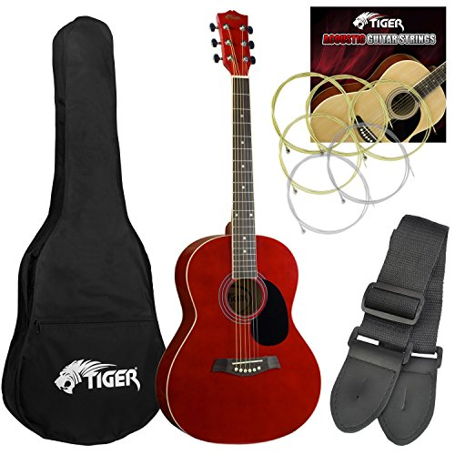 tiger-complete-red-acoustic-guitar-pack-with-accessories
