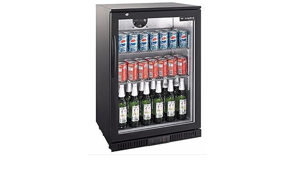 Bomann Kühlschrank Glastür : Kühlschrank glastür liter umluft schwarz getränkekühlschrank