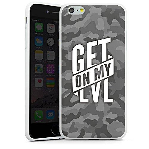 Apple iPhone 8 Hülle Premium Case Cover Montanablack Fanartikel Merchandise Get On My Level Gray Silikon Case weiß