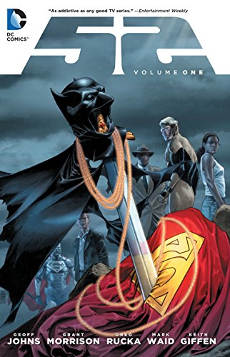 (W) Geoff Johns & Various (A) Keith Giffen & Various (CA) J. G. Jones After the INFINITE CRISIS, the DC Universe spent a year without Superman, Batman and Wonder Woman. Now, the first 26 issues of this weekly series are collected with stories...