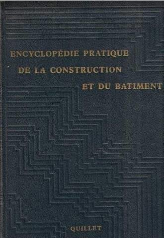 Encyclopedie pratique de la construction et du batiment (2 volumes)