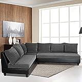 Furny Daisy Six Seater Sofa (Black)