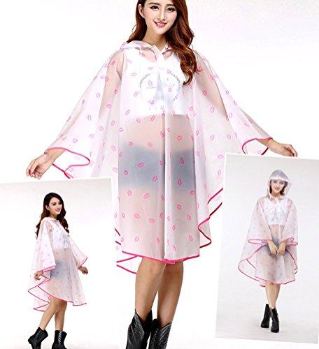 Yiyida Damen Blouson Regenjacke color 2