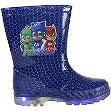 Botas de agua PVC Elsa Frozen con luz Talla 30 QYVx0HwBp