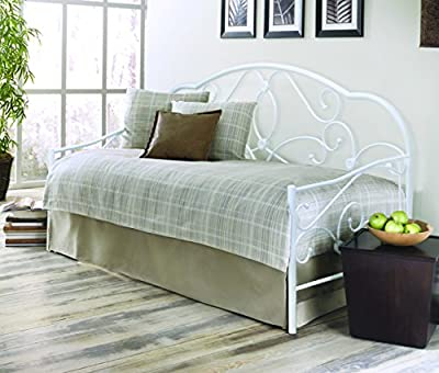 Bedzonline Alexis 3ft Metal Daybed White - low-cost UK light shop.