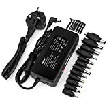 Sunydeal 90W Universal AC to DC 15V 24V Adapter Laptop Power Charger Supply Replacement HP DELL ASUS SAMSUNG Most Compatible Laptop Model