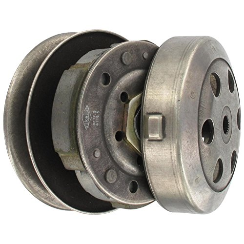 Xfight-Parts Kupplung komplett mit Riemensch/Glocke 107mm mit Kuppl. Abfrage 4Takt 50ccm 139QMA/QMB (Für Racing-parts Motorroller)