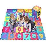 Star Ibaby Alfombra Puzzle Bebé 36 Piezas - 195x195 cm - Espuma XPE Ecologica - No tóxica