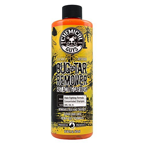 Heavy-duty Shampoo (Chemical Guys CWS_104_16 Bug and Tar Heavy Duty Car Wash Shampoo (16 oz) by Chemical Guys)