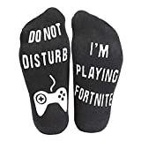 Prettyui Do Not Disturb,I'm Gaming Funny Ankle Socks - Gamer Socks - Perfect Gamers G...
