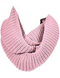 Tongshi Invierno Cálido Infinity cuello de la capucha del mantón de la bufanda larga de la Mujer