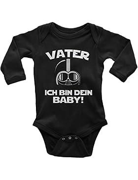 Mikalino Babybody Langarm Vater - Ich Bin Dein Baby!