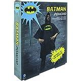 Paladone–DC Comics Batman Poncho (Talla única), multicolor