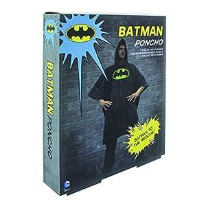 Paladone- Batman Chubasquero hombre, Multicolor, Talla única (PP2894DC)