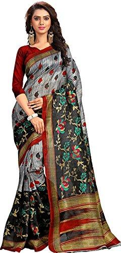 Samskruti Sarees Art Silk Saree (Spas-5561_Multicolor)