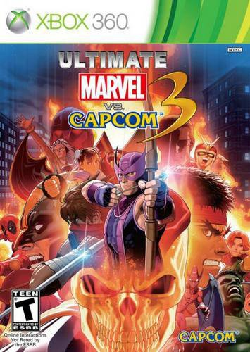 Capcom Marvel Vs. 3, Xbox 360 - video games (Xbox 360, Xbox 360, Fighting, T (Teen))