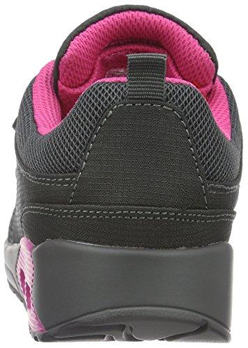 KangaROOS Kanga X 2000 V, Baskets Basses Mixte Enfant Grau (dk Grey/magenta 261)