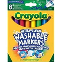 CRAYOLA 58-8328-E-000 Ultra-Clean Washable Markers