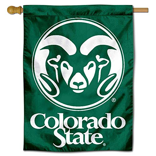 College Flags and Banners Co. Colorado State University Doppelseitig House Flagge - Colorado State University